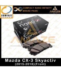 Compact Nano Infinity Brake Pad for Mazda CX-3 Skyactiv (15-18)(Front)