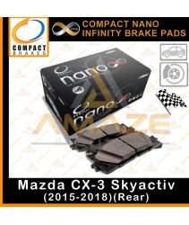 Compact Nano Infinity Brake Pad for Mazda CX-3 Skyactiv (15-18)(Rear)