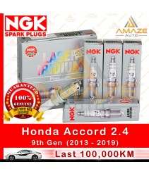 NGK Laser Iridium Spark Plug for Honda Accord 2.4 I-Vtec (9th Gen)