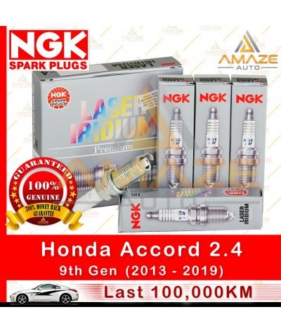 NGK Laser Iridium Spark Plug for Honda Accord 2.4 I-Vtec (9th Gen)