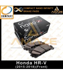 Compact Nano Infinity Brake Pad for Honda HR-V (HRV) (15-Current) (Front)