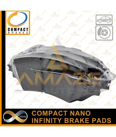 Compact Nano Infinity Brake Pad for Lexus RX330 & RX350 2nd gen (03 - 08) (Front)