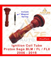 Silicone Ignition Plug Coil Tube with Magnet Spring - Proton Saga BLM / FL / FLX (Campro)