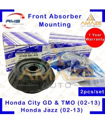 RMS Strut Mount / Absorber Mount for Honda City GD, TMO & Jazz (2002-2013) (2pcs/set)
