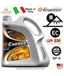 G-Energy Far East 5W30 Fully-Synthetic Engine Oil (4L) SN (Made in Italy) - Energy Conserving / Minyak Pelincir Enjin 5W30