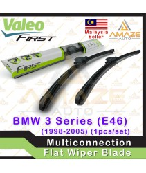Valeo First Multiconnection Flat Wiper blade for BMW 3 Series (E46) (98-05) (2pcs/set)