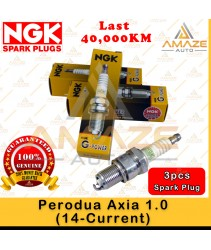 NGK G-Power Platinum Spark Plug for Perodua Axia 1.0 (14-Current) (3pcs/set)