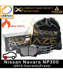 Compact Nano Infinity Brake Pad for Nissan Navara NP300 (2015 - Current) (Front)