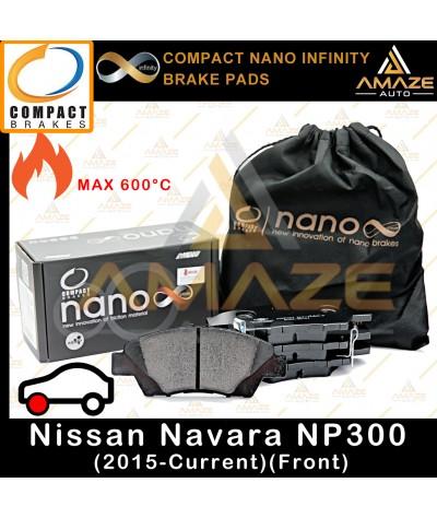 Compact Nano Infinity Brake Pad for Nissan Navara NP300 (2015 - Current) (Front)