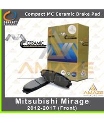 Compact MC Ceramic Brake Pad for Mitusbishi Mirage (Front)