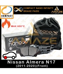 Compact Nano Infinity Brake Pad for Nissan Almera N17 (2011-2020) (Front)