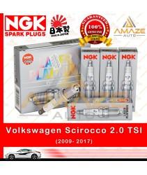 NGK Laser Platinum Spark Plug for Volkswagen Scirocco 2.0 TSI (2009-2017) (4pcs/set)