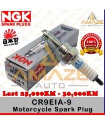 NGK Laser Iridium Spark Plug CR9EIA-9 (Kawasakii Versys, Z1000, ZX-10R, Suzuki GSX, GSZ, V-Strom)- Last 25,000KM - 30,000KM