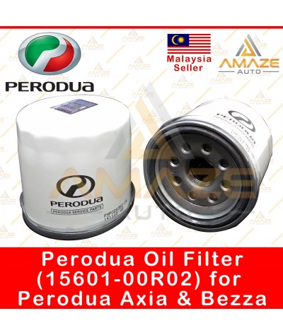 Genuine Perodua Oil Filter (15601-00R02) for Axia & Bezza