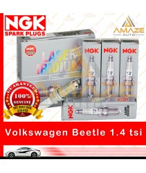 NGK Laser Iridium Spark Plug for Volkswagen Beetle 1.4 TSI A5 (2013-2014) - Longest Usage life and high performance