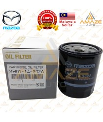 Genuine Mazda Oil Filter (SH01-14-302A) for Mazda Non Skyactiv Model (Mazda 3 2.0 BK & BL, Mazda 5 2.0, Mazda 6 2.0 GG & GH)