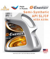 G-Energy Expert L 10W30 Semi-Synthetic Engine Oil (4L) - SL/CF ACEA A3/B4