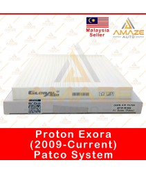 Air-Cond Cabin Filter for Proton Exora (2009 - Current) Patco type & Sanden type