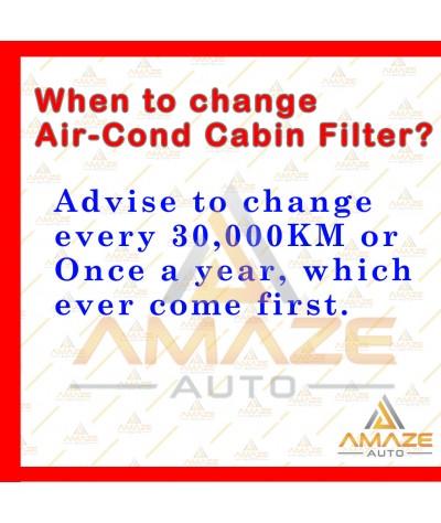 Air-Cond Cabin Filter for Proton Iriz, Proton Persona VVT (16 - ) & Proton Preve (18 - ) (Sanden System)