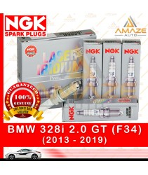 NGK Laser Iridium Spark Plug for BMW 328i GT (F34) (2013 - 2019)