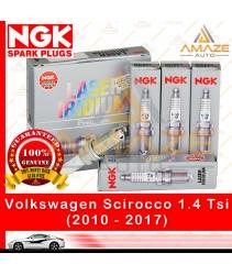 NGK Laser Iridium Spark Plug for Volkswagen Scirocco 1.4 TSI (2010-2017) (4pcs/set)