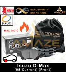 Compact Nano Infinity Brake Pad for Isuzu D-Max (08-Current) (Front) - Amaze Autoparts