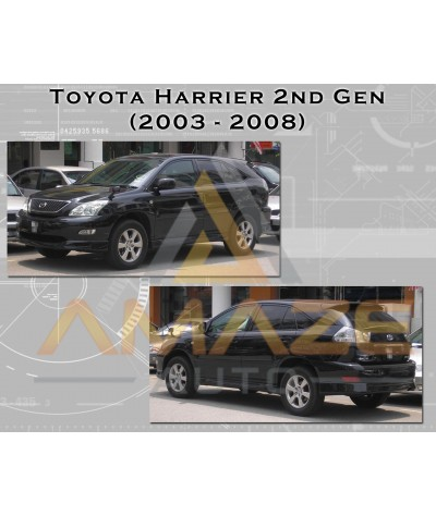 Compact MC Ceramic Brake Pad for Toyota Harrier 2nd gen (03 - 13) (Rear)
