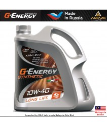 G-Energy Synthetic Long Life 10W40 Fully-Synthetic Engine Oil (4L) - SN/CF, ACEA A3/B4, VW 501.01/505.00, MB 229.3