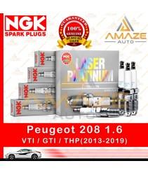 NGK Laser Platinum Spark Plug for Peugeot 208 1.6 VTI / GTI / THP (2013-2019) - Amaze Autoparts