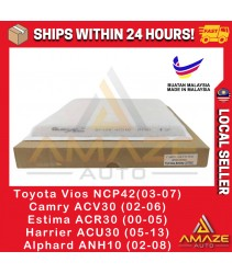 Air-Cond Cabin Filter for Toyota Vios NCP42, Camry ACV30, Estima ACR30, Alphard ANH10, Harrier ACU30 (Equal to 87139-47010)