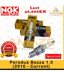 NGK G-Power Platinum Spark Plug for Perodua Bezza 1.0 (16-Current) (3pcs/set)