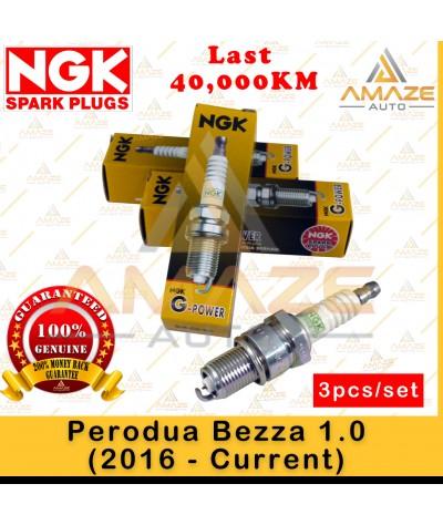 NGK G-Power Platinum Spark Plug for Perodua Bezza 1.0 (16-Current) (3pcs/set)