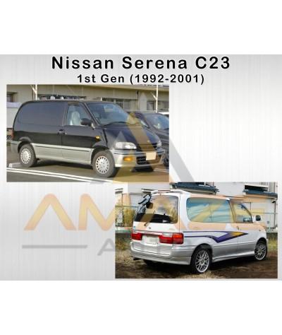 Musashi Winner Brake Pad (Copper Free NAO) for Nissan Serena C23 (1st Gen) (1992-2001) (Front)