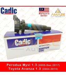 Cadic Ignition Coil for Perodua Myvi 1.3 (2005-Dec 2017) & Toyota Avanza 1.3 (2004-2015)
