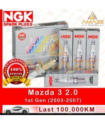NGK Laser Iridium Spark Plug for Mazda 3 2.0 (1st Gen) (03 - 07)