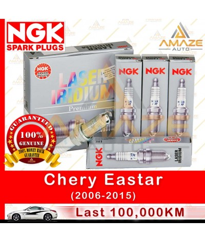 NGK Laser Iridium Spark Plug for Chery Eastar (06-15) - Longest Usage life and high performance