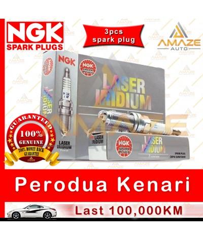 NGK Laser Iridium Spark Plug for Perodua Kenari 1.0 - Longest Usage life and high performance