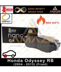 Musashi Nano Infinity Brake Pad for Honda Odyssey RB Series (2004 - 2013) (Front)