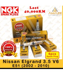 NGK G-Power Platinum Spark Plug for Nissan Elgrand 3.5 V6 E51 (2002 - 2010)