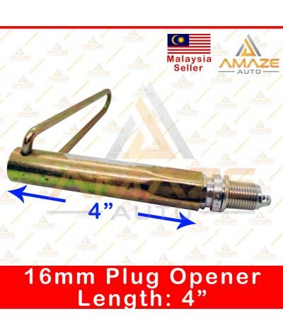 "16mm Spark Plug Opener / Pembuka Palam Pencucuh (Length: 4"" / 6"" / 7"" / 8"") [Amaze Autoparts]"