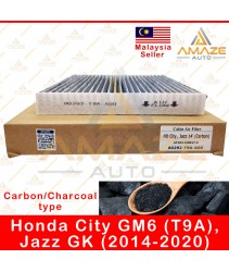 Carbon / Charcoal Air-Cond Cabin Filter for Honda City GM6 (T9A) & Jazz GK (2014-2020) (Equal to 80292-T9A-A00)
