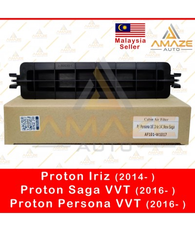 Air-Cond Cabin Filter with holder for Proton Iriz (2014- ) & Persona VVT (2016- )