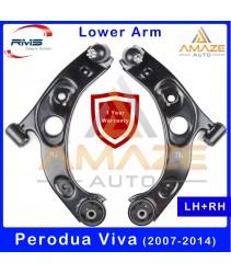 RMS Front Lower Control Arm for Perodua Viva (2007-2014) (LH+RH) [Amaze Autoparts]
