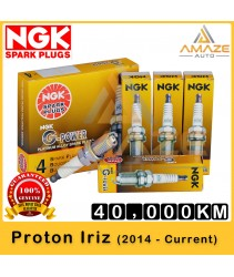 NGK G-Power Platinum Spark Plug for Proton Iriz 1.3 & 1.6 (2014 - ) - 40,000KM Platinum Spark Plug
