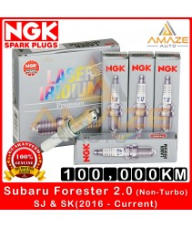 NGK Laser Iridium Spark Plug for Subaru Forester 2.0 (non-turbo) SJ & SK (2016 - Current) - Longest Usage life and high performance