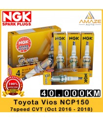 NGK G-Power Platinum Spark Plug for Toyota Vios NCP150 7Speed CVT (2016 - 2018) - Last 40,000KM
