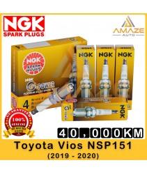 NGK G-Power Platinum Spark Plug for Toyota Vios NSP151 (2019 - Current) - Last 40,000KM