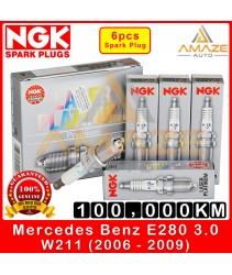 NGK Laser Platinum Spark Plug for Mercedes Benz E Class W211 E280 3.0 V6  (2006-2009) - Long Life Spark Plug 100,000KM