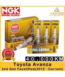 NGK G-Power Platinum Spark Plug for Toyota Avanza (2nd Gen Facelifted) (2015-Current ) - Last 40,000KM