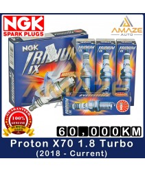 NGK Iridium IX Spark Plug for Proton X70 1.8 Turbo (2018-Current) - 60,000KM Iridium Spark Plug